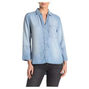Cloth & Stone Button Down Shirt Chambray